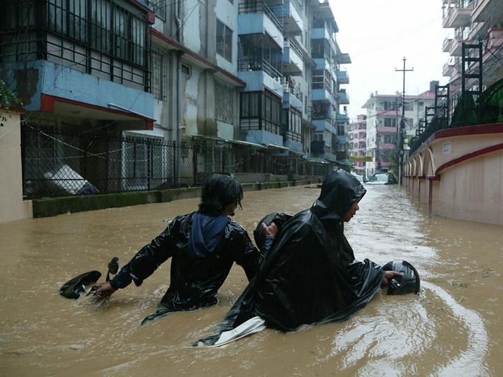 В Непале число жертв наводнений и оползней достигло 50 человек - ФОТО - ОБНОВЛЕНО