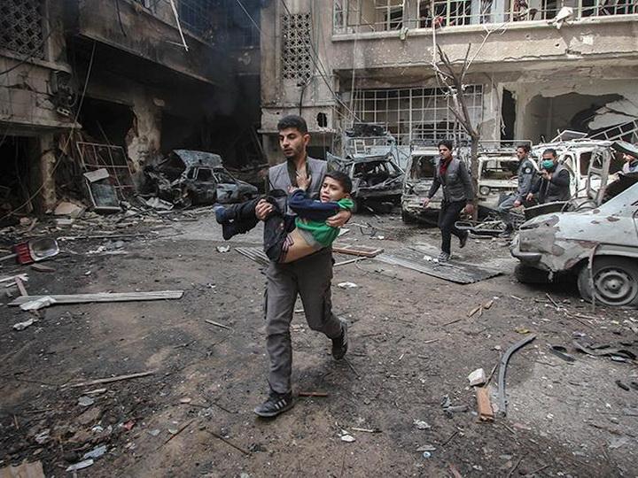 В Сирии шесть человек погибли в результате обстрела боевиков