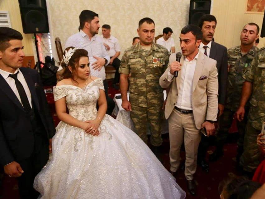В Баку состоялась свадьба брата и сестры шехидов апрельских боев - ФОТО - ВИДЕО