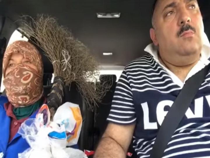 Откровения уборщицы бакинских улиц: Вместо того, чтобы бросать весь мусор из автомобилей... – ВИДЕО