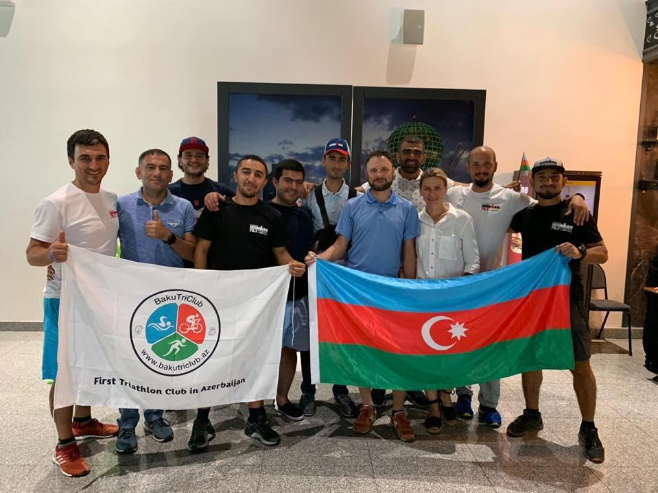 Азербайджанские триатлеты добились успеха в Казахстане