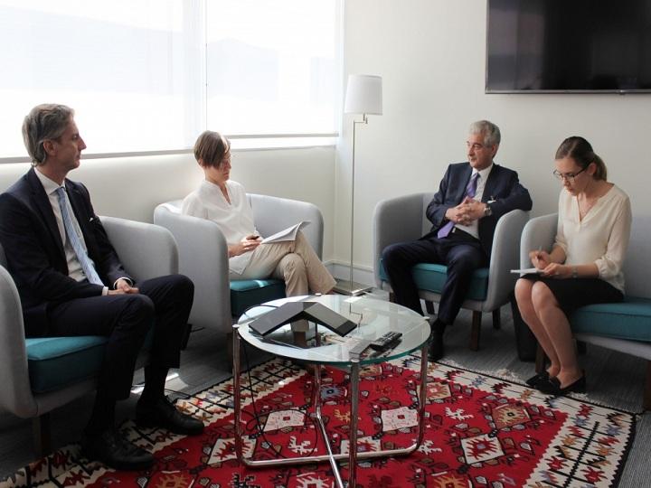 Azərbaycan ilə BMT İP arasında əməkdaşlığın genişləndirilməsi müzakirə edilib