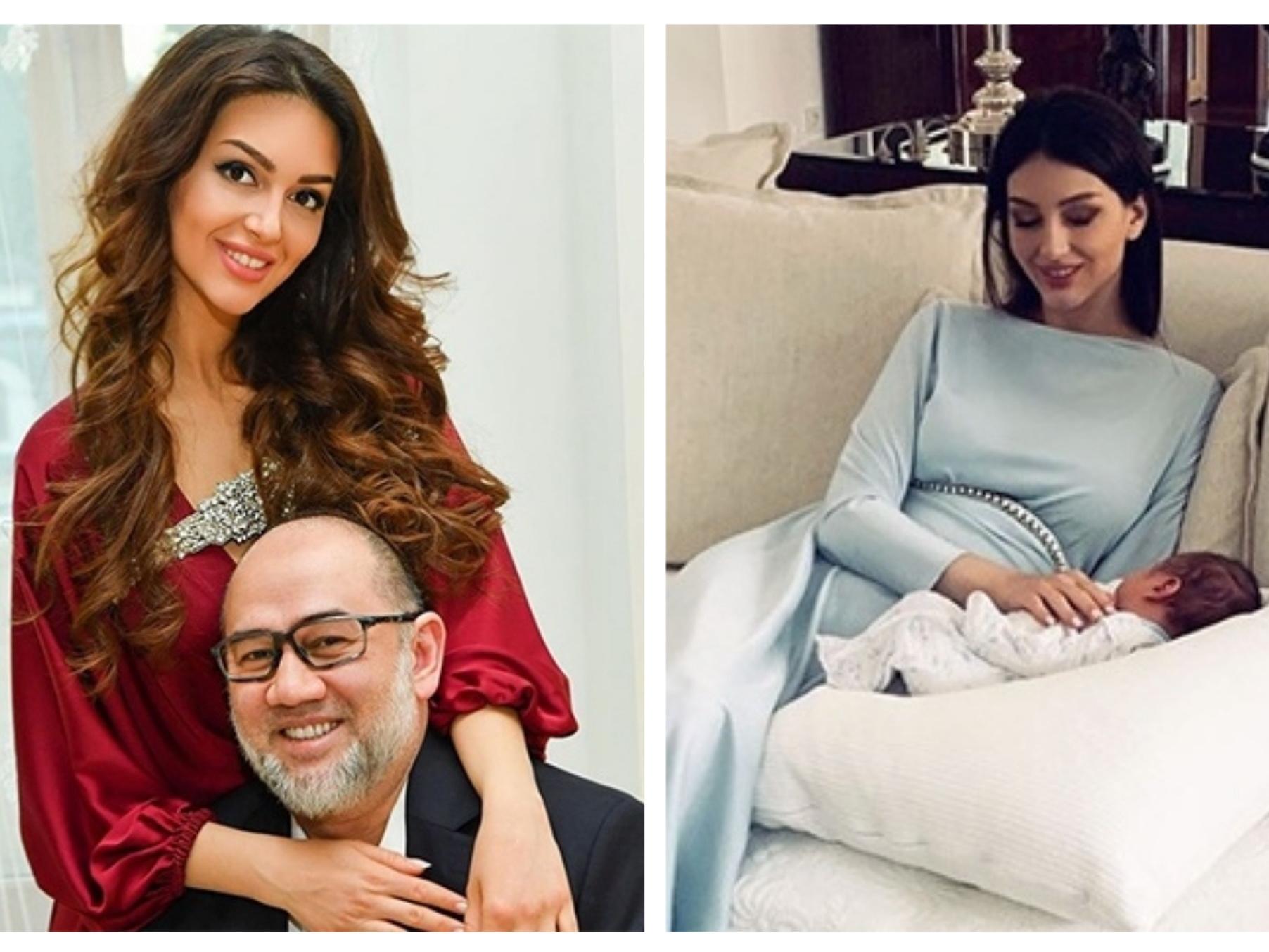 СМИ: Бывший король Малайзии развелся с «Мисс Москва-2015» спустя 2 месяца после рождения сына - ФОТО