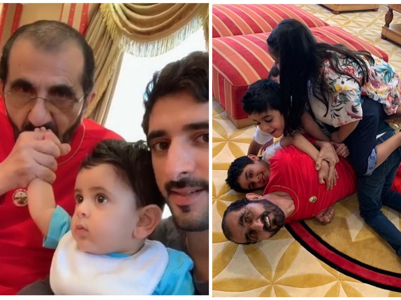 Брошенный шейх Дубая отпраздновал 70-летие в Лондоне с детьми и внуками - ФОТО – ВИДЕО
