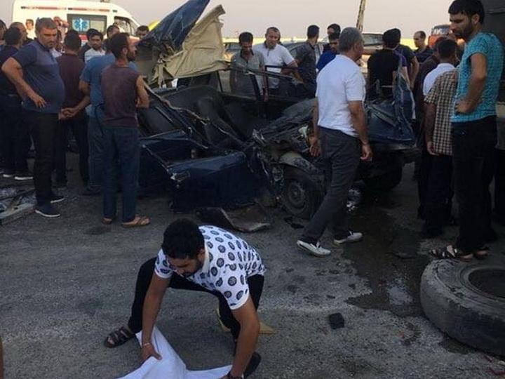Страшная авария на трассе Баку-Алят: есть погибший – ФОТО – ВИДЕО
