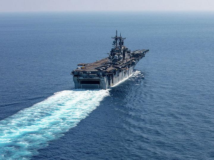Корабль ВМС США сбил иранский беспилотник
