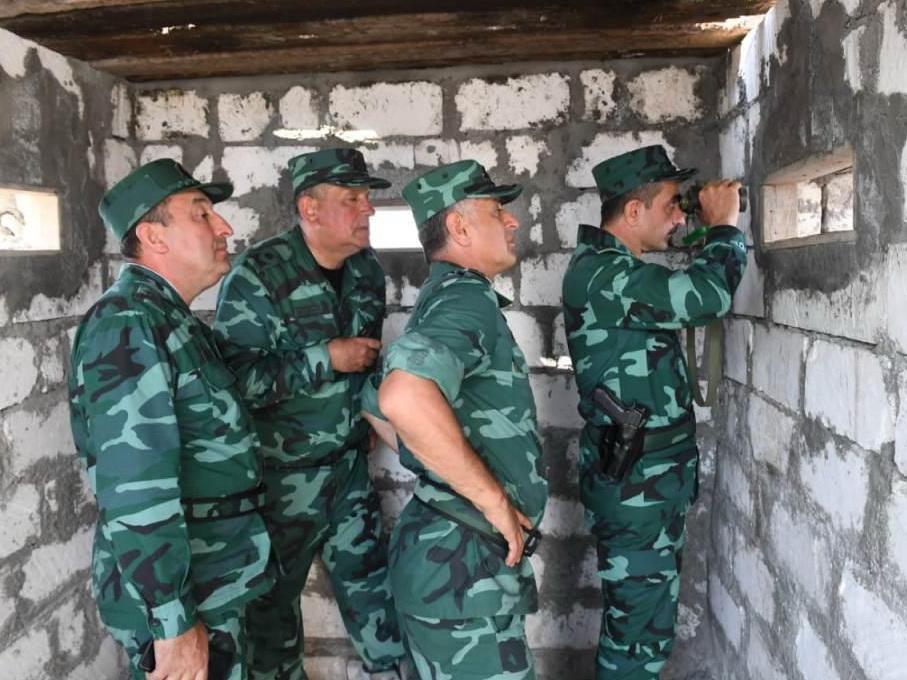 Армяне обстреляли азербайджанских пограничников, есть раненый - ФОТО