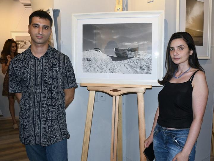 «Песчаные волны»: Образ летнего Абшерона в объективе Рустама Гусейнова - ФОТО
