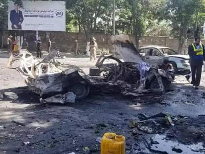 В Кабуле рядом с университетом прогремел взрыв, есть погибшие - ФОТО