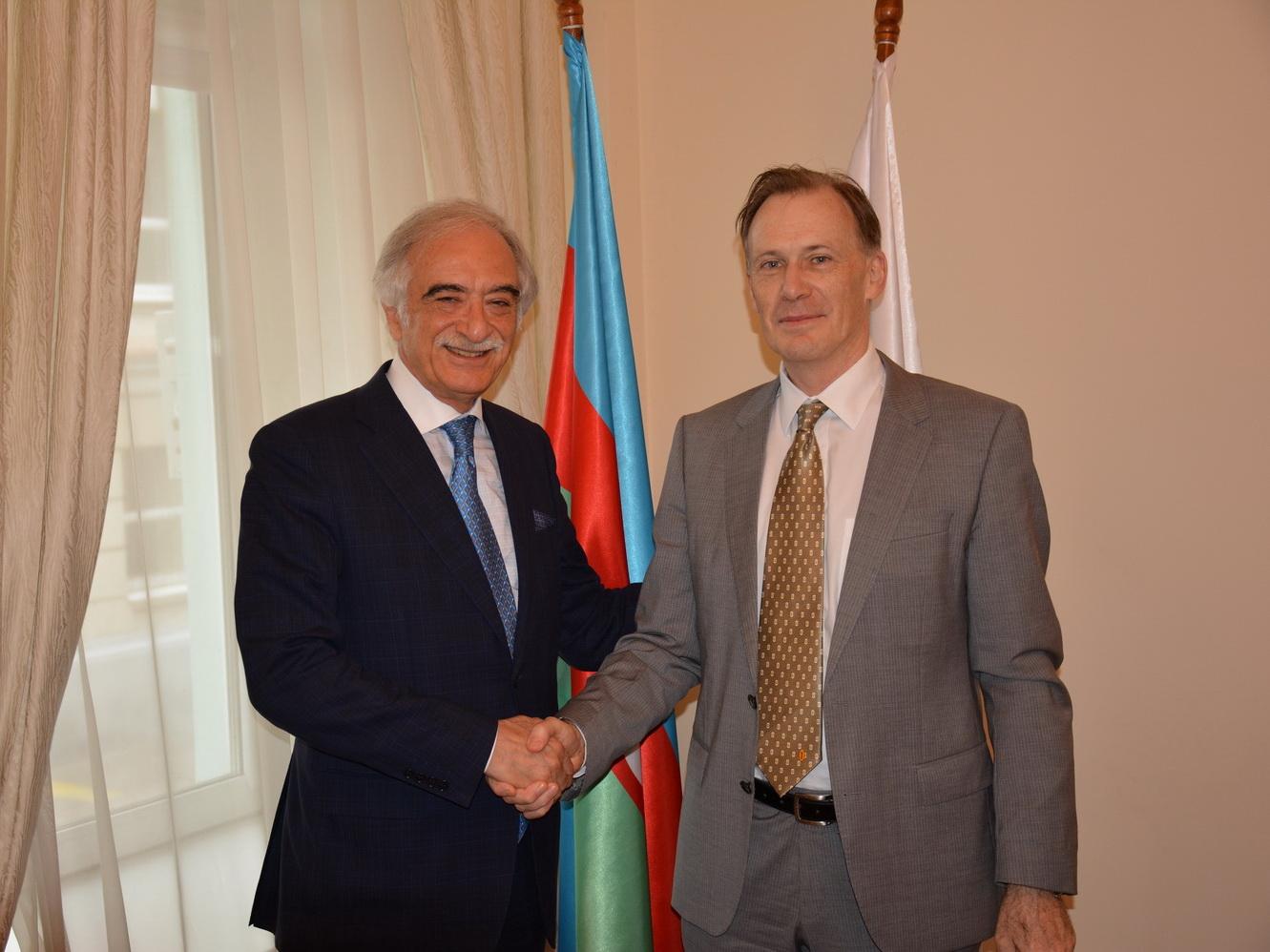 Полад Бюльбюльоглу встретился с послом Австралии в РФ - ФОТО