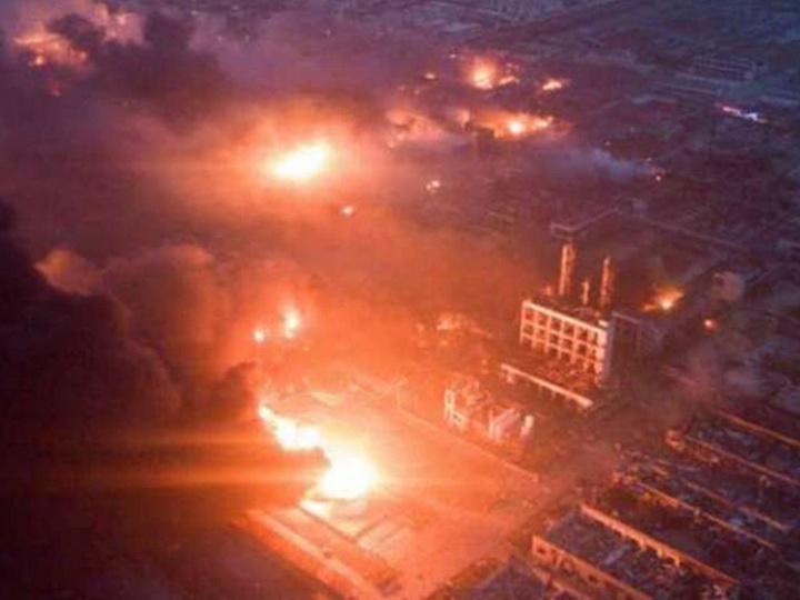 В Китае после взрыва на заводе погибли 10 человек
