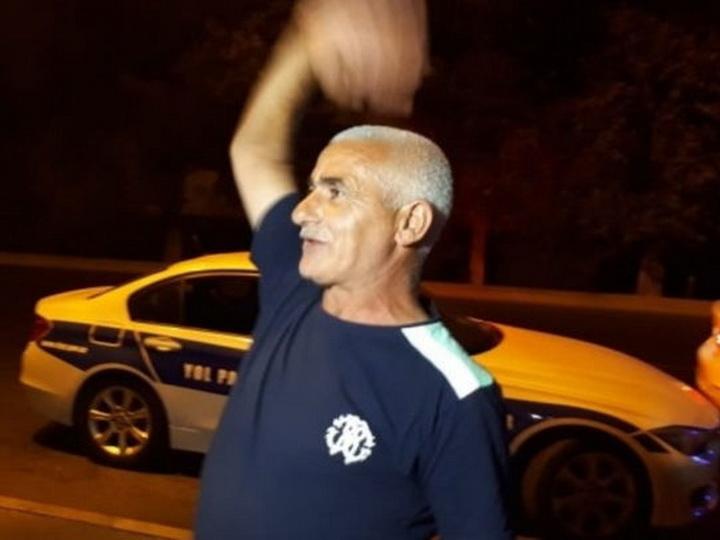 Пьяный водитель в Баку: «Я же не танком управлял» - ВИДЕО