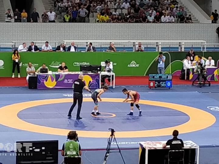 Азербайджан завоевал первую золотую медаль на Еврофестивале