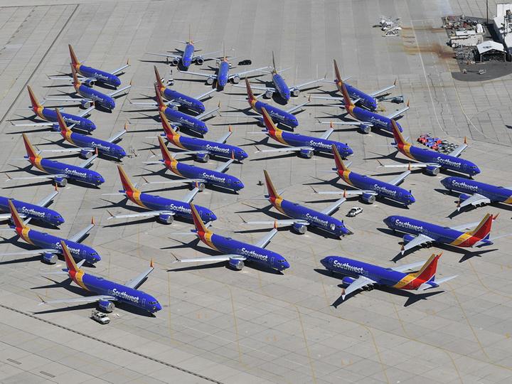 В Калифорнии нашли кладбище самолетов Boeing 737 Max - ФОТО