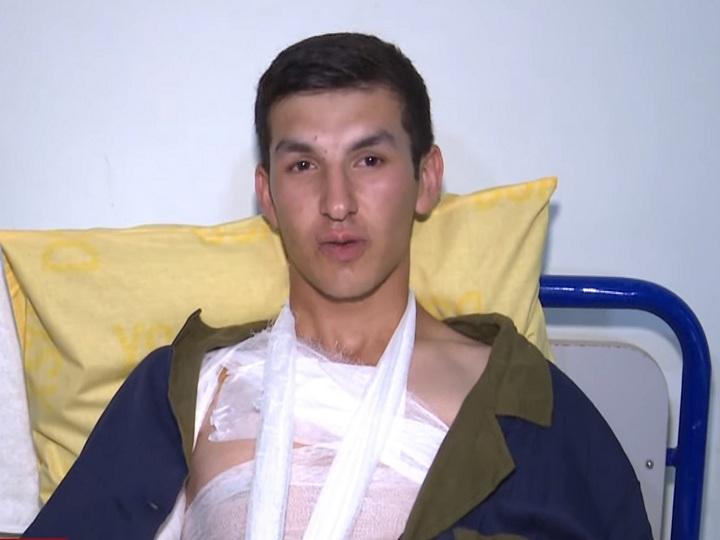 DSX: Ermənilərin yaraladığı əsgərin durumu yaxşılaşıb