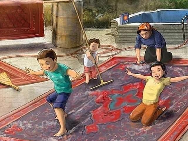 Все мы родом из детства: Работы иранского художника покорили азербайджанских пользователей соцсетей - ФОТО