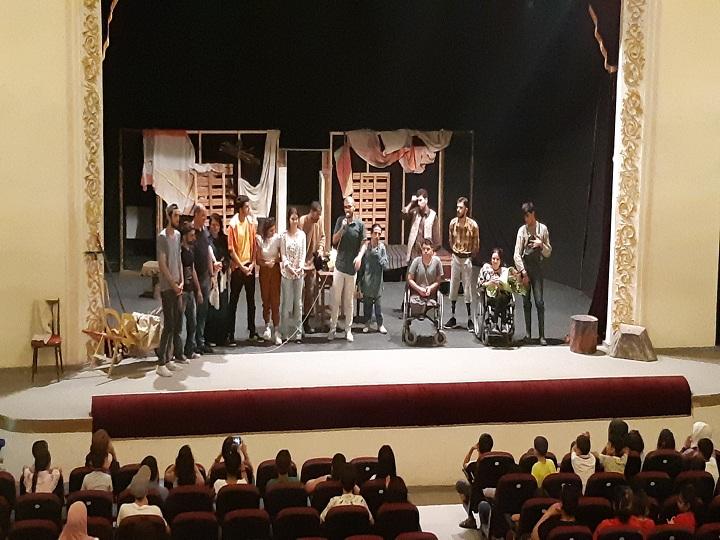 ƏSA Teatrı Lənkəranda – FOTO