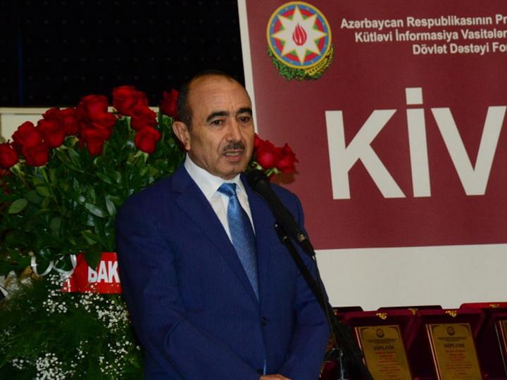 Али Гасанов: Развитие азербайджанских СМИ полностью соответствует сегодняшнему развитию Азербайджана - ФОТО