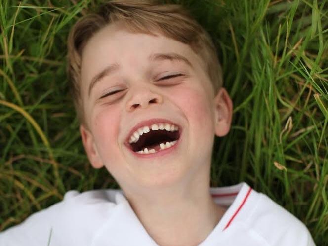 Отмечающий шестилетие принц Джордж в объективе Кейт Миддлтон - ФОТО