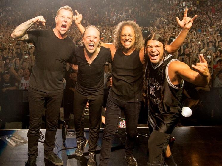 Metallica перепела легендарный хит Виктора Цоя «Группа крови» - ВИДЕО