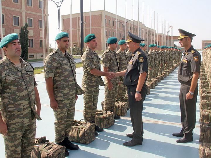 Группа миротворцев из Азербайджана отправилась в Афганистан - ВИДЕО