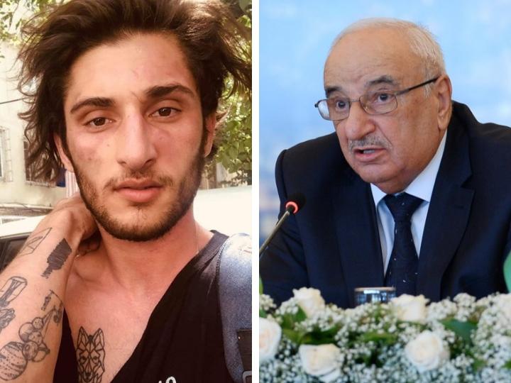 Эпатажный журналист Нурлан Либре прокатился на капоте машины Абида Шарифова – ВИДЕО