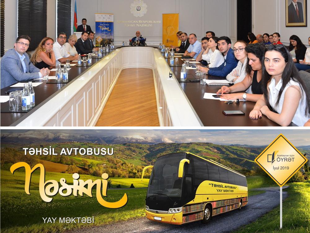 При поддержке Kapital Bank продолжается проект Təhsil avtobusu