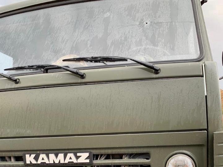 Провокация на границе: Армянские снайперы обстреляли азербайджанский грузовик
