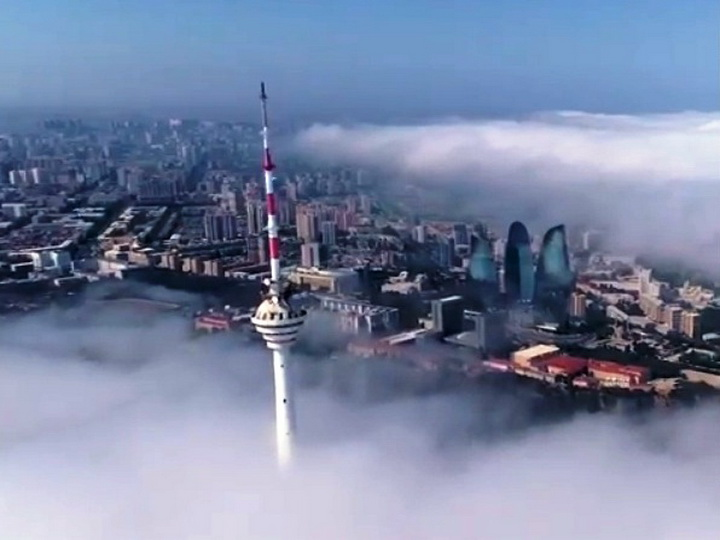 Это прекрасно: Невероятный Баку в уникальном ракурсе – ВИДЕО