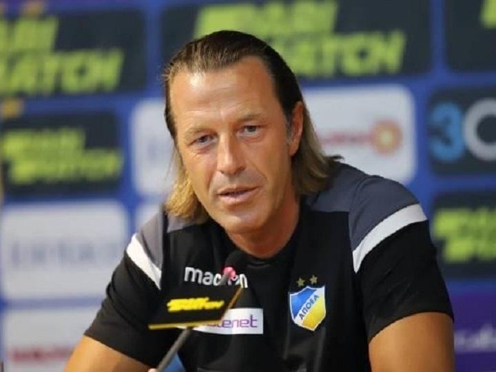 """APOEL """"Qarabağ""""a görə baş məşqçini istefaya göndərdi"""