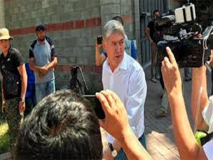 Atambayev istintaq təcridxanasına yerləşdirilib