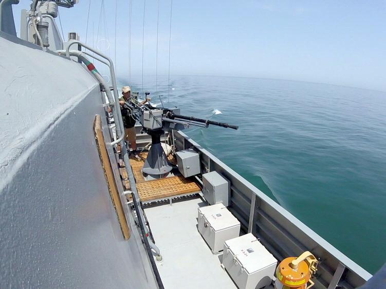 Моряки ВМС Азербайджана заняли первое место на международном конкурсе артиллерийской стрельбы - ФОТО - ВИДЕО