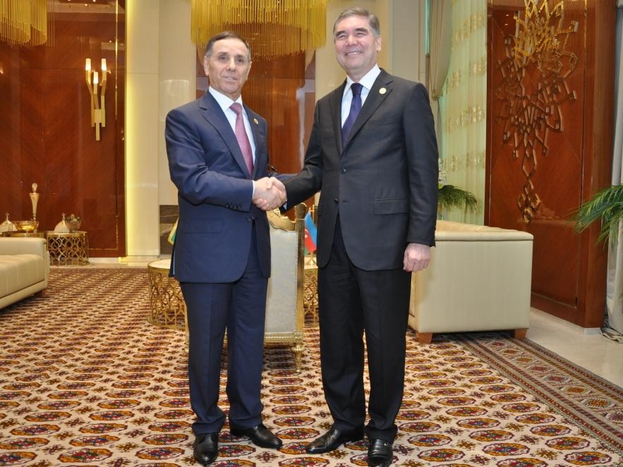 Новруз Мамедов встретился с Президентом Туркменистана Гурбангулы Бердымухамедовым - ФОТО
