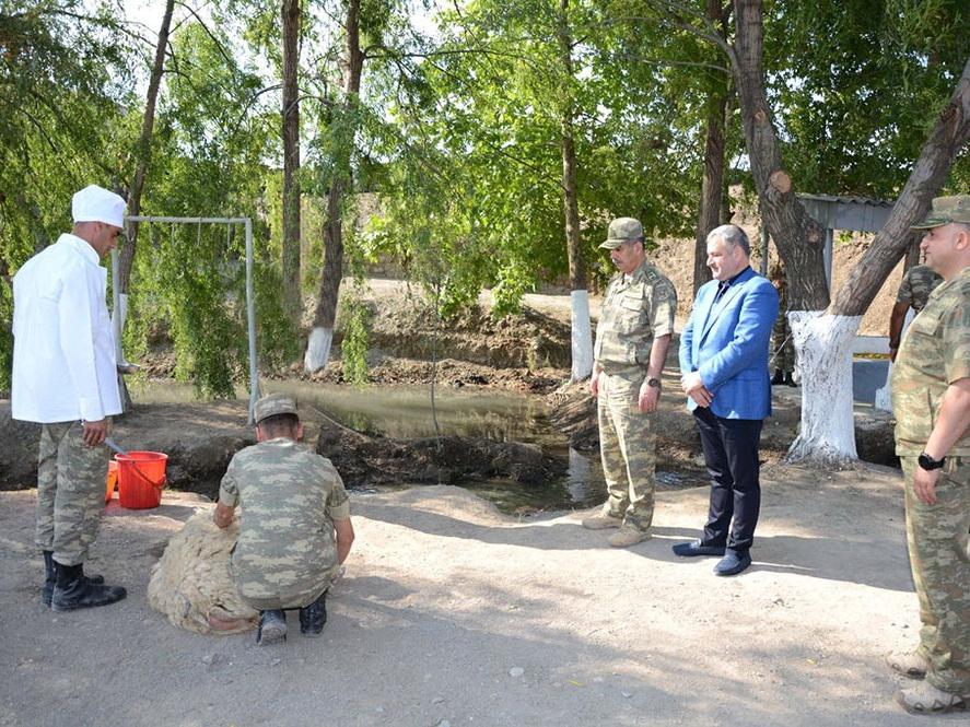 Министр обороны Азербайджана посетил передовые подразделения - ФОТО - ВИДЕО