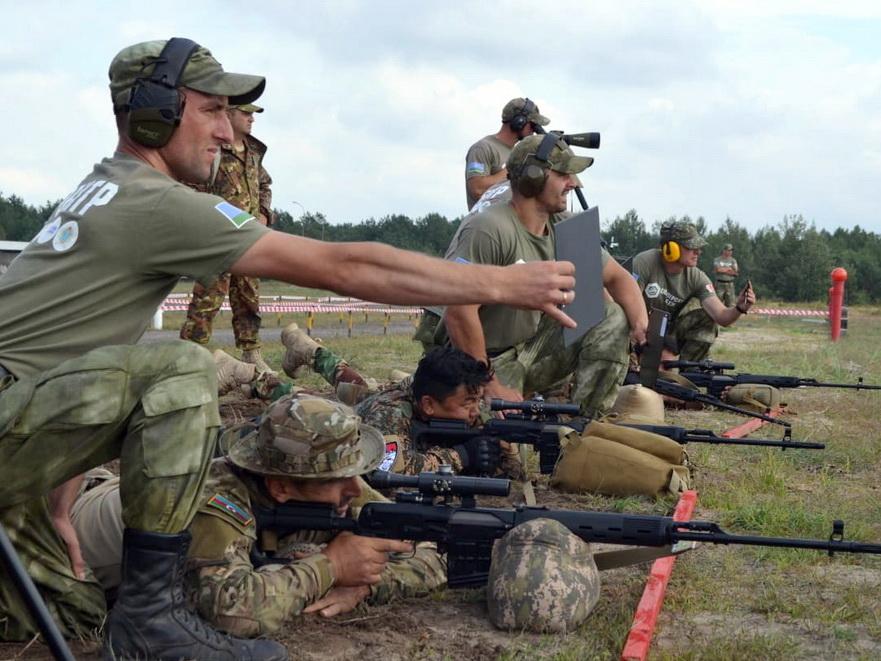 Состоялся четвертый этап конкурса «Снайперский рубеж» - ФОТО