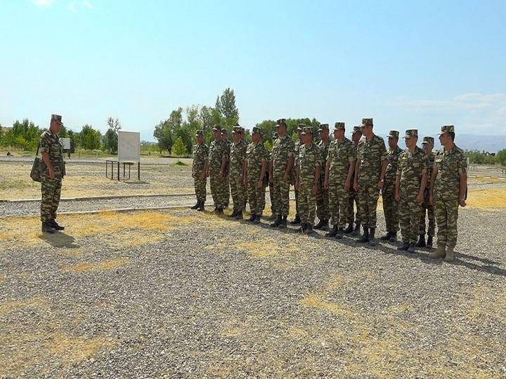 Əlahiddə Ümumqoşun Orduda komandir hazırlığı məşğələləri keçirilib - VİDEO