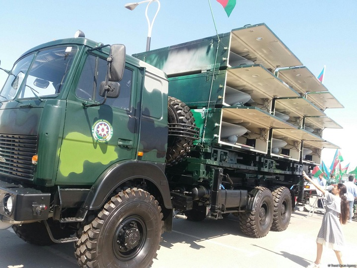 Ordumuzda olan İsrail istehsallı PUA nümayiş olundu