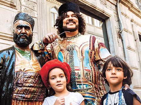 «СтарХит»: Филипп Киркоров устроил детям королевские каникулы в Баку – ФОТО