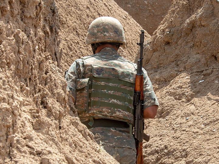 В оккупированном Нагорном Карабахе ранен армянский солдат
