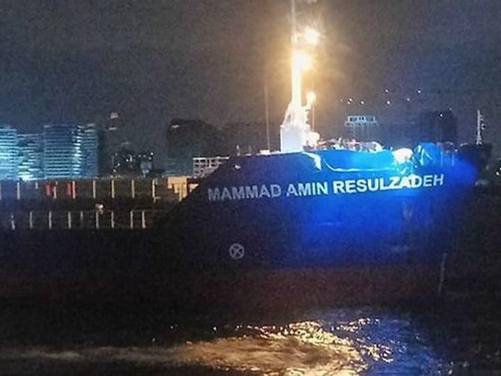 Мубариз Мансимов показал судно М.Э.Расулзаде после инцидента - ФОТО - ВИДЕО - ОБНОВЛЕНО