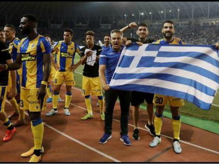 УЕФА может наказать АПОЭЛ за провокацию в Баку