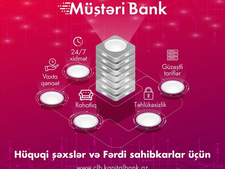 Kapital Bank развивает систему «Клиент – Банк»