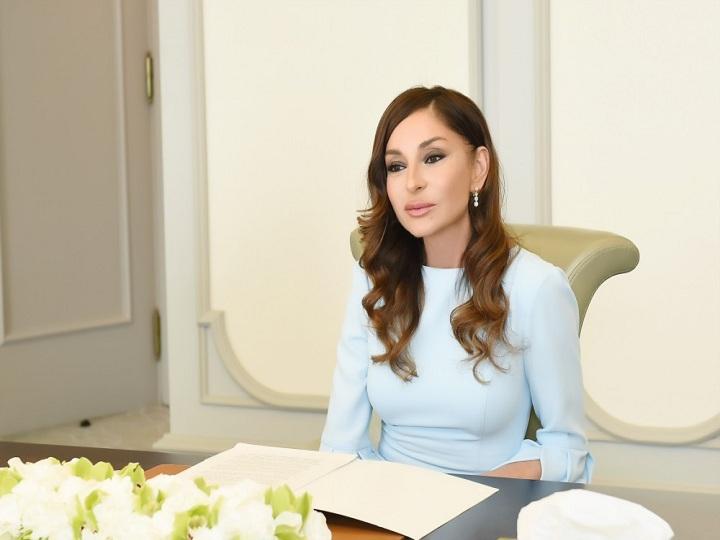 Mehriban Əliyeva Rusiya Prezidentinə məktub ünvanlayıb