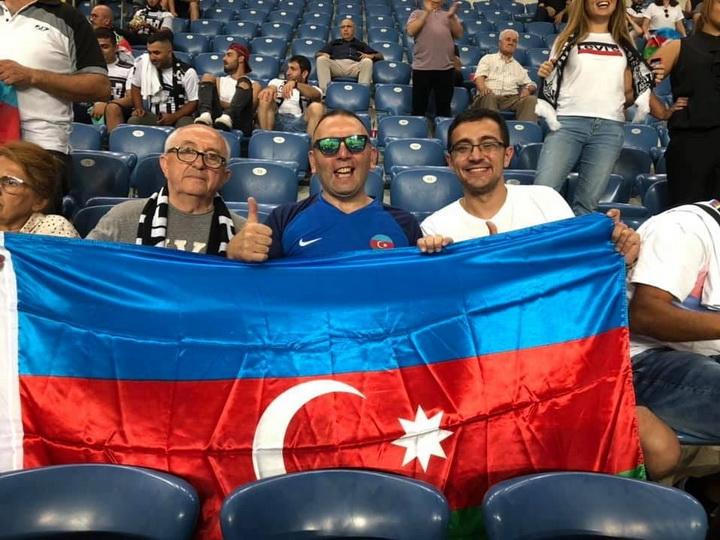 Азербайджанские евреи поддержали «Нефтчи» в Израиле - ФОТО
