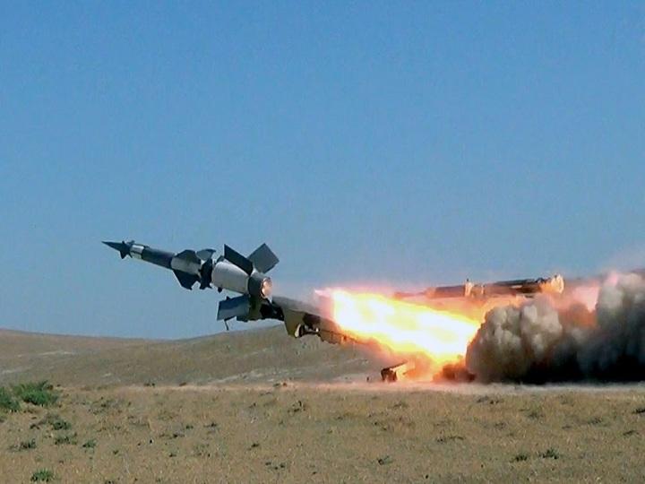 Zenit-Raket Qoşunlarında döyüş atışlı təlimlər keçirilib – FOTO – VİDEO