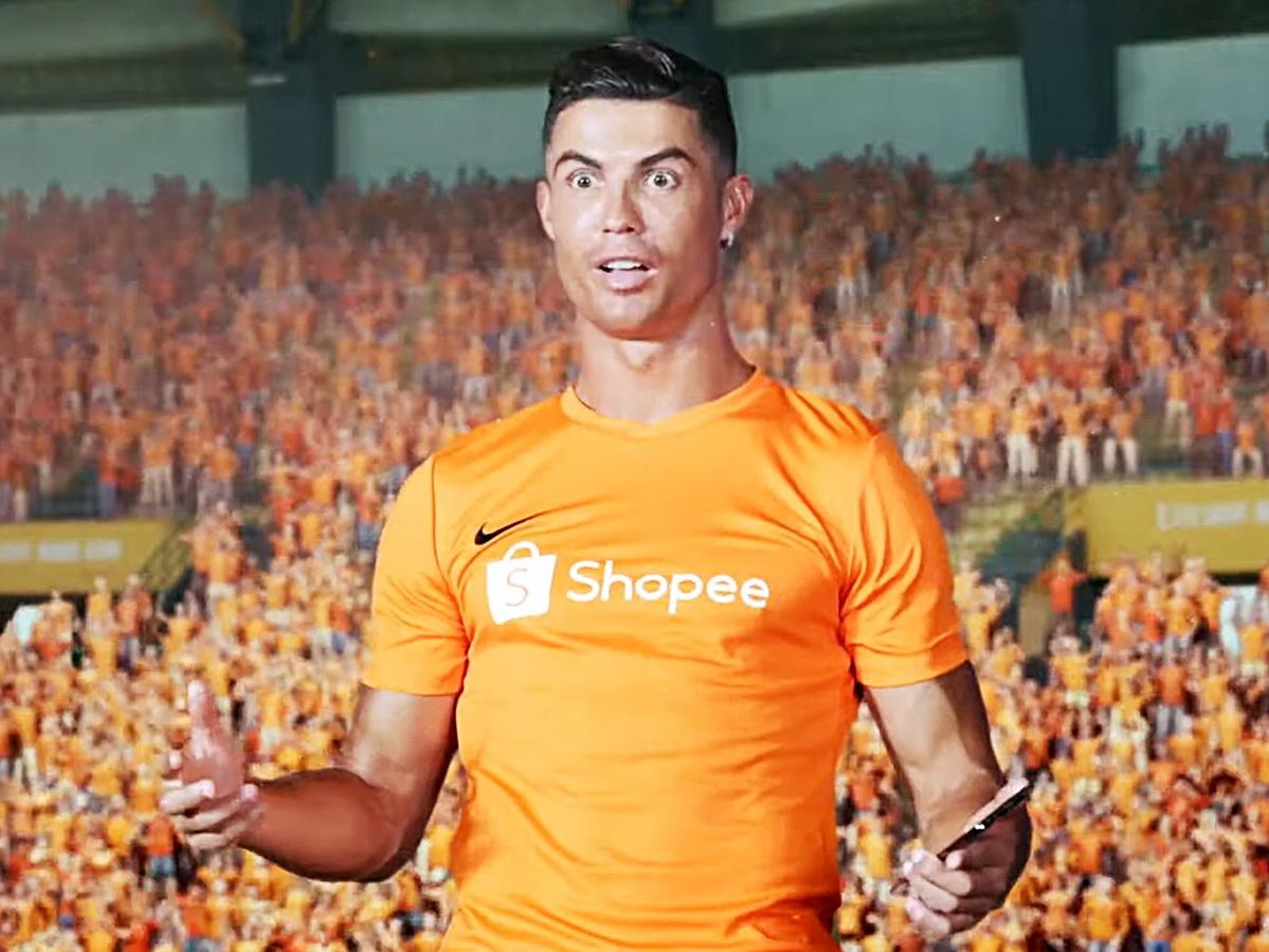 Роналду станцевал в рекламном ролике - ВИДЕО