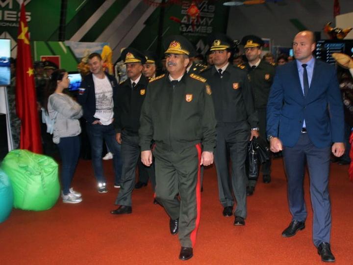 Министр обороны Азербайджана принял участие в церемонии закрытия Армейских международных игр-2019 - ФОТО
