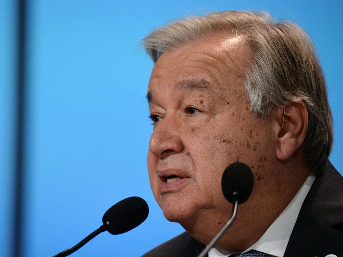 Генсек ООН осудил теракт в Кабуле, унесший жизни 63 человек