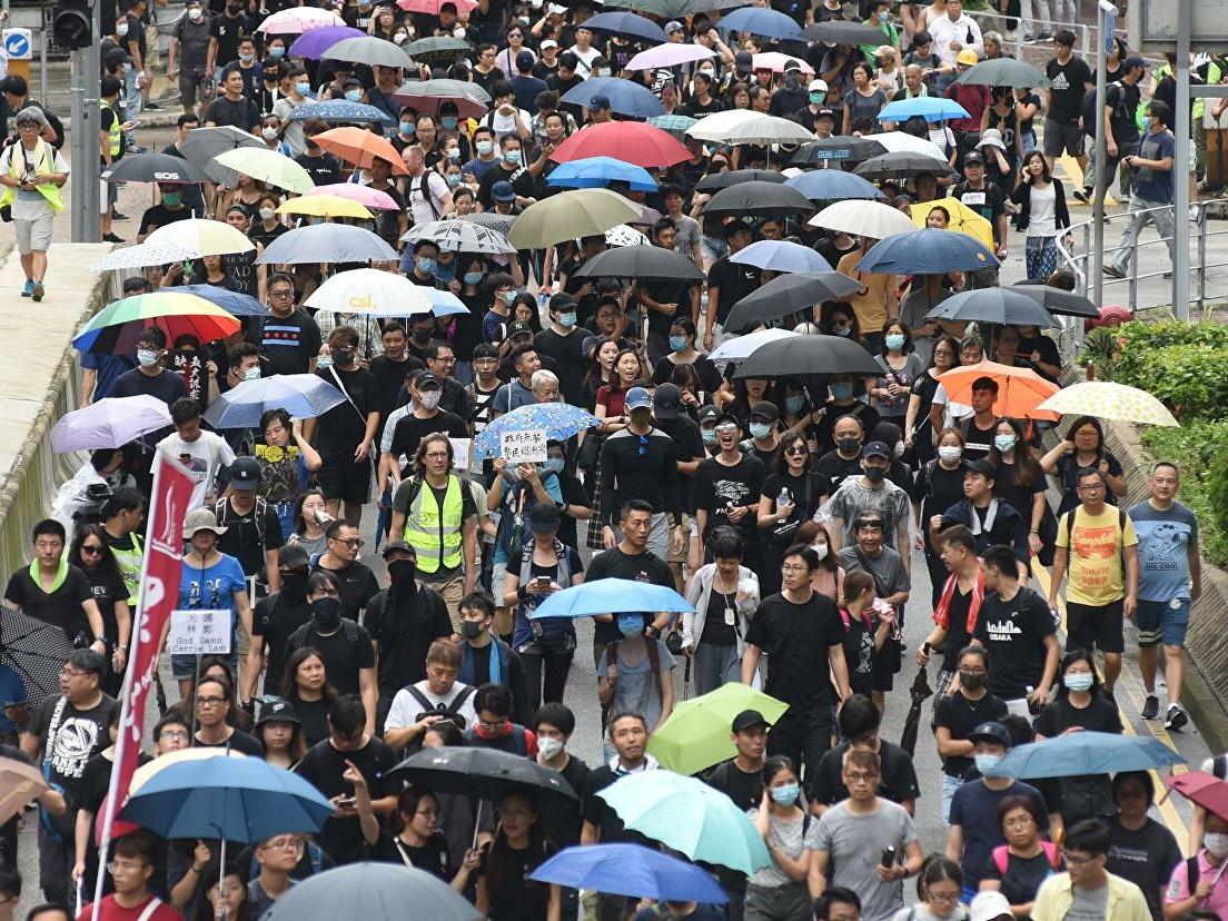 Марш протеста в Гонконге собрал 1,7 миллиона человек