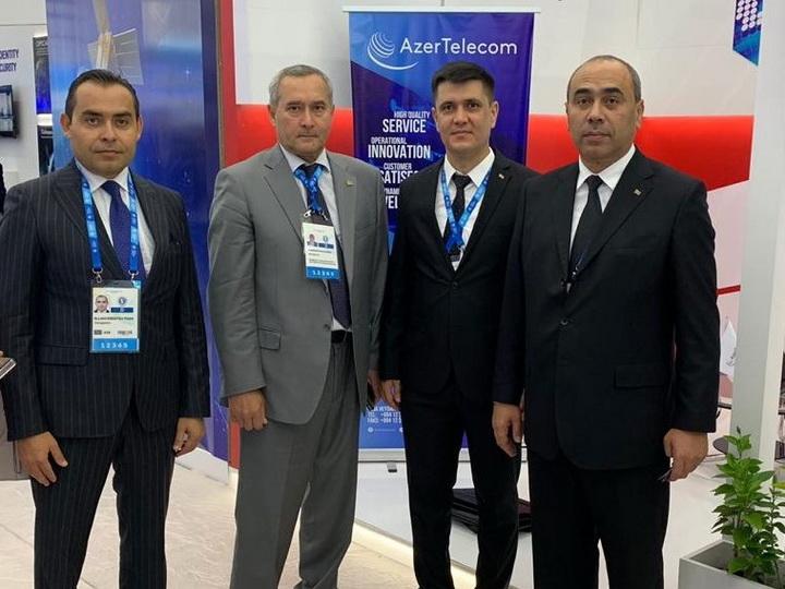 AzerTelecom приняла участие в выставке инновационных технологий в Туркменистане - ФОТО